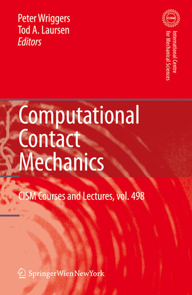 Computational Contact Mechanics - Coverbild
