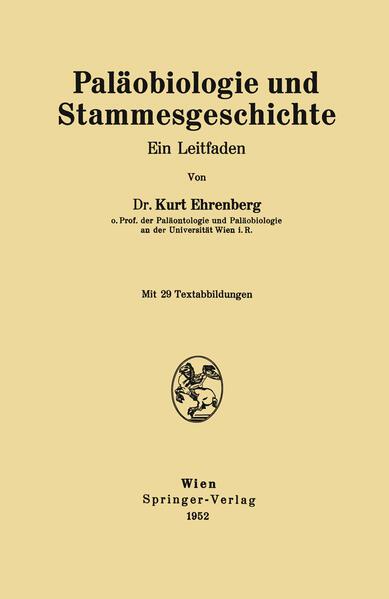 Paläobiologie und Stammesgeschichte - Coverbild