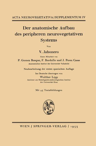 Der anatomische Aufbau des peripheren neurovegetativen Systems - Coverbild
