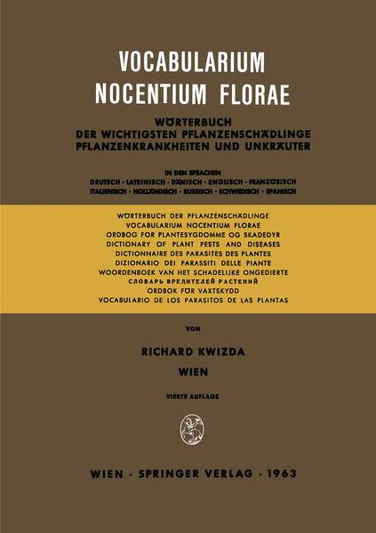 Vocabularium Nocentium Florae - Coverbild