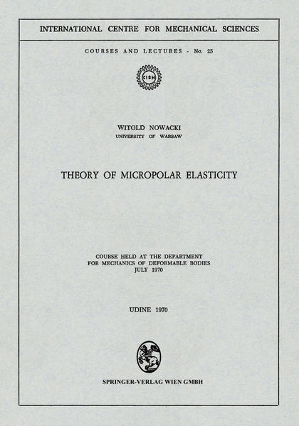 Theory of Micropolar Elasticity - Coverbild