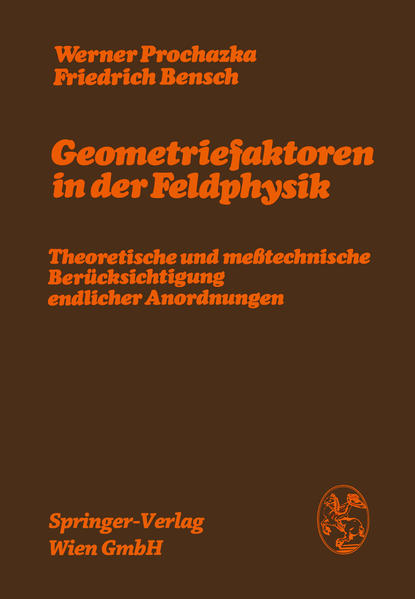 Geometriefaktoren in der Feldphysik - Coverbild