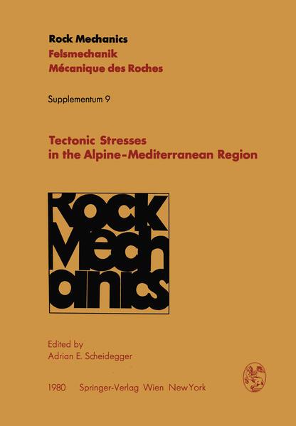 Tectonic Stresses in the Alpine-Mediterranean Region - Coverbild