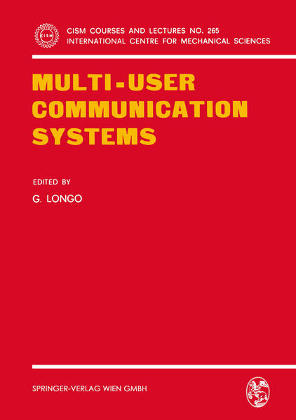 Multi-User Communication Systems - Coverbild