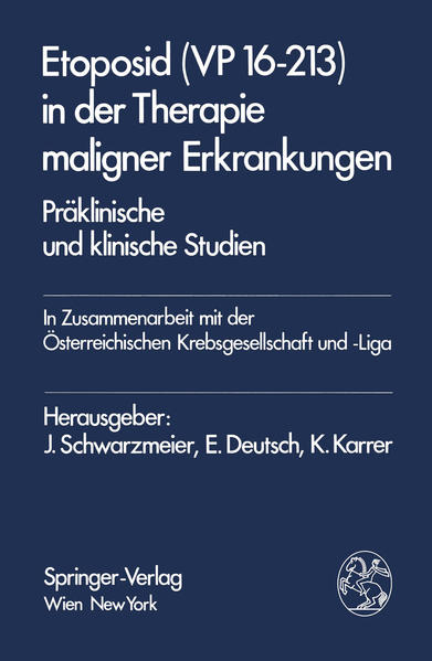 Etoposid (VP 16-213) in der Therapie maligner Erkrankungen - Coverbild