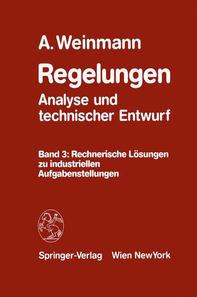Regelungen Analyse und technischer Entwurf - Coverbild