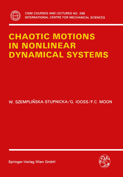 Chaotic Motions in Nonlinear Dynamical Systems - Coverbild