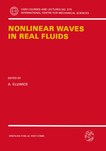 Nonlinear Waves in Real Fluids - Coverbild