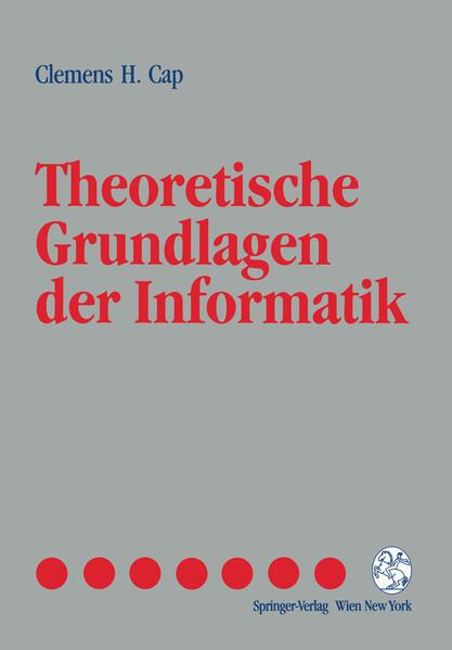 Theoretische Grundlagen der Informatik - Coverbild