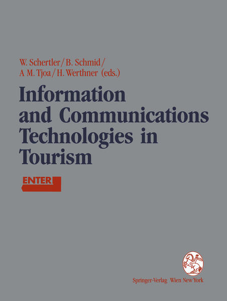 Information and Communications Technologies in Tourism - Coverbild