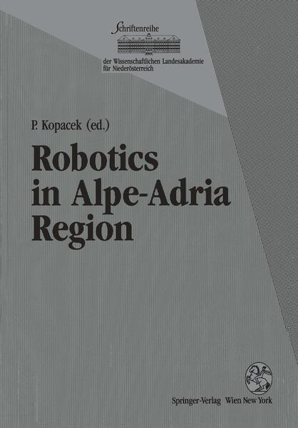 Robotics in Alpe-Adria Region - Coverbild