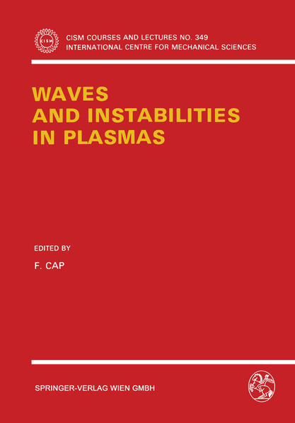 Waves and Instabilities in Plasmas - Coverbild