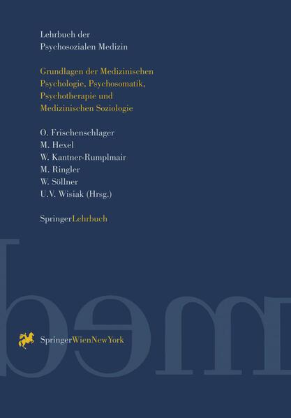 Lehrbuch der Psychosozialen Medizin - Coverbild