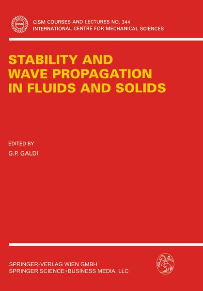 Stability and Wave Propagation in Fluids and Solids - Coverbild