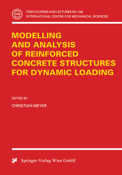 Modelling and Analysis of Reinforced Concrete Structures for Dynamic Loading - Coverbild