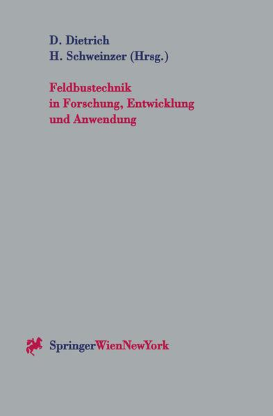 Feldbustechnik in Forschung, Entwicklung und Anwendung - Coverbild
