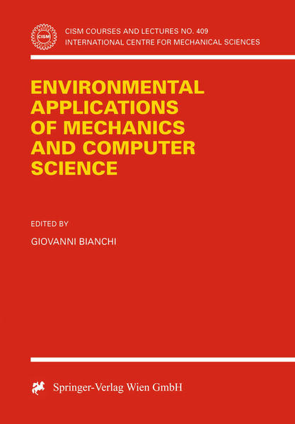 Environmental Applications of Mechanics and Computer Science - Coverbild