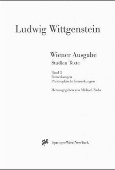 Wiener Ausgabe Studien Texte - Coverbild
