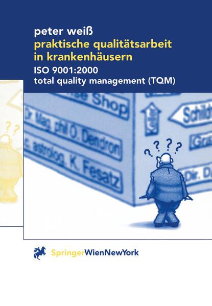 Praktische Qualitätsarbeit in Krankenhäusern - Coverbild