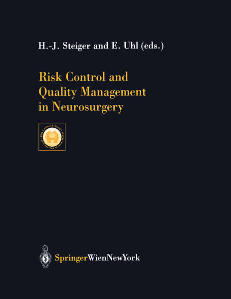 Risk Control and Quality Management in Neurosurgery - Coverbild