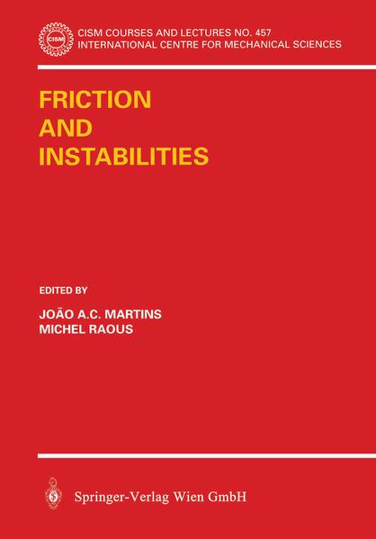 Friction and Instabilities - Coverbild