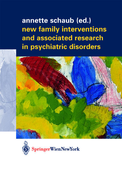 New Family Interventions and Associated Research in Psychiatric Disorders - Coverbild
