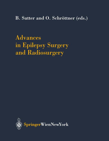 Advances in Epilepsy Surgery and Radiosurgery - Coverbild