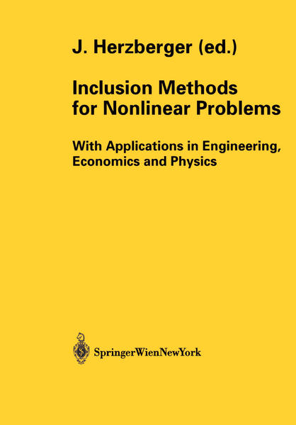 Inclusion Methods for Nonlinear Problems - Coverbild