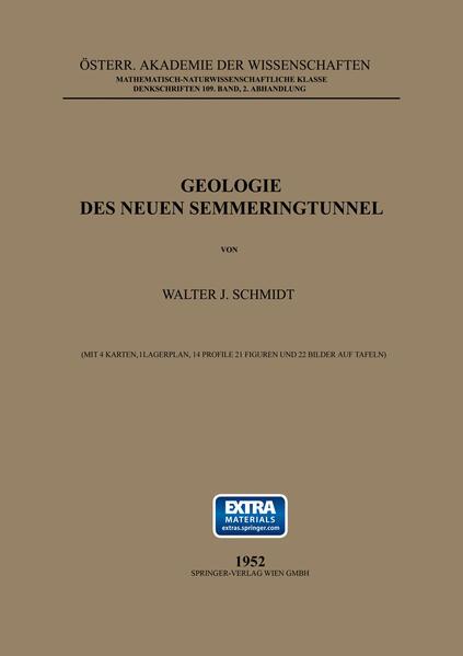 Geologie des Neuen Semmeringtunnel - Coverbild