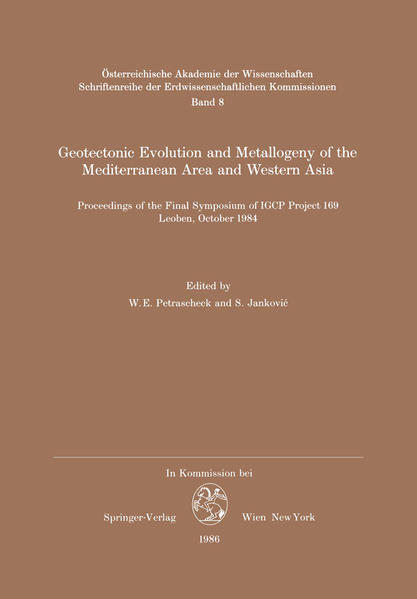 Geotectonic Evolution and Metallogeny of the Mediterranean Area and Western Asia - Coverbild
