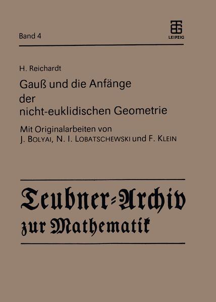 Gauß und die Anfänge der nicht-euklidischen Geometrie - Coverbild