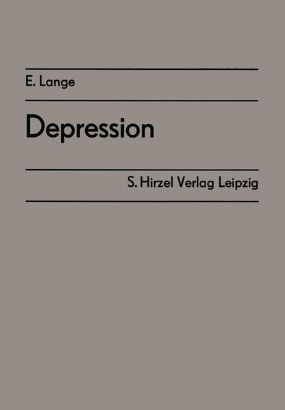 Depression - Coverbild