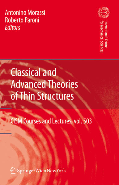 Classical and Advanced Theories of Thin Structures - Coverbild