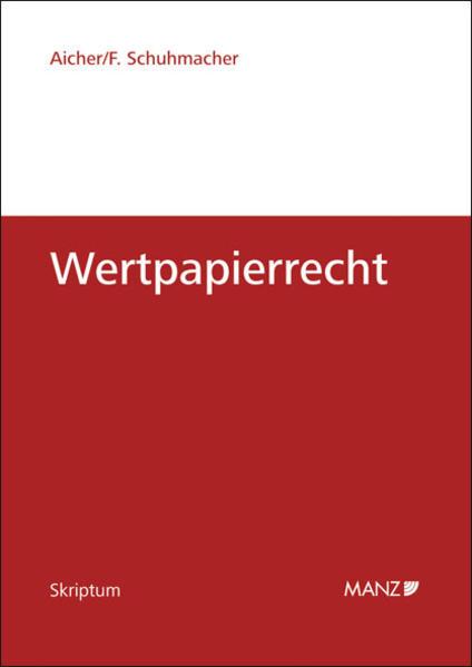 Wertpapierrecht - Coverbild
