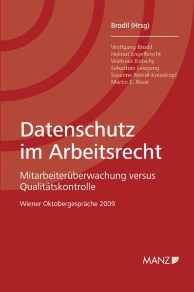 Datenschutz im Arbeitsrecht - Coverbild