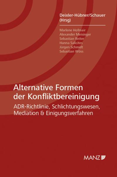 Ebooks Alternative Formen der Konfliktbereinigung PDF Herunterladen