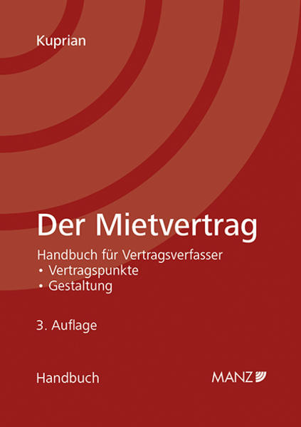 Der Mietvertrag - Coverbild