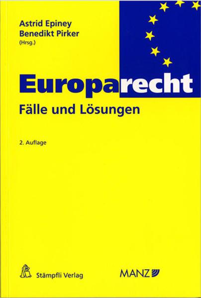 Europarecht - Fälle und Lösungen - Coverbild
