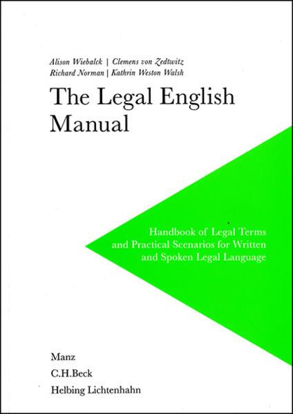 The Legal English Manual - Coverbild