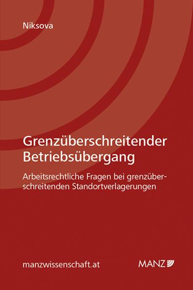 Grenzüberschreitender Betriebsübergang - Coverbild