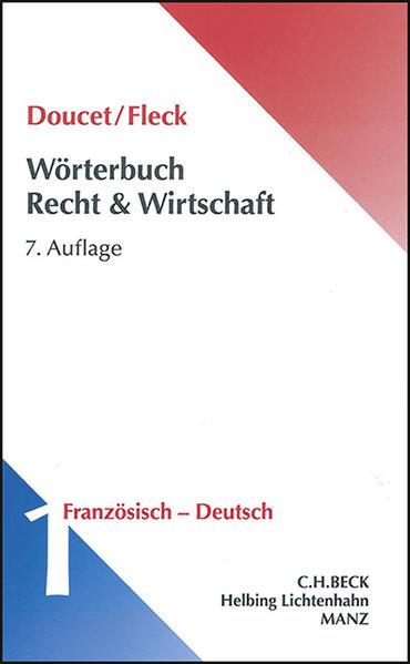 Wörterbuch der Rechts- und Wirtschaftssprache - Coverbild