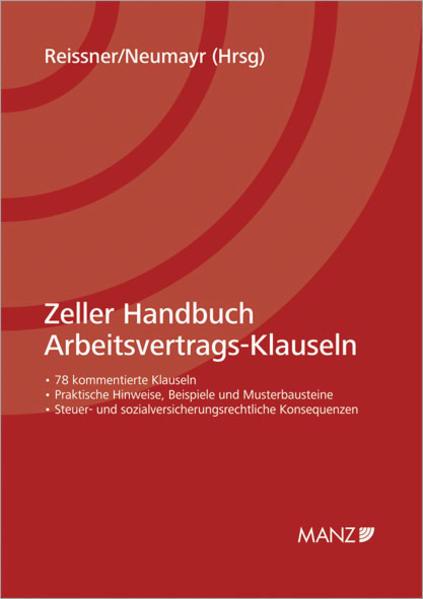 Zeller Handbuch Arbeitsvertrags-Klauseln - Coverbild