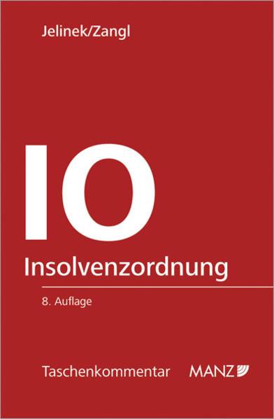 Insolvenzordnung - IO - Coverbild