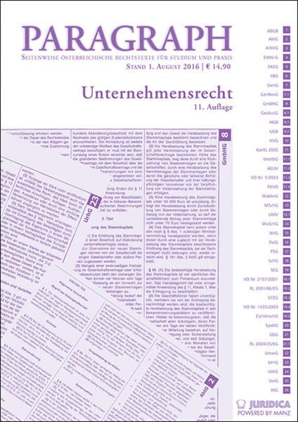 Unternehmensrecht - Coverbild