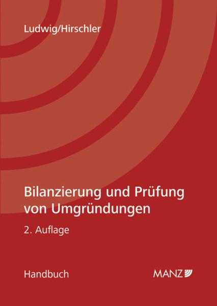 Bilanzierung und Prüfung von Umgründungen - Coverbild