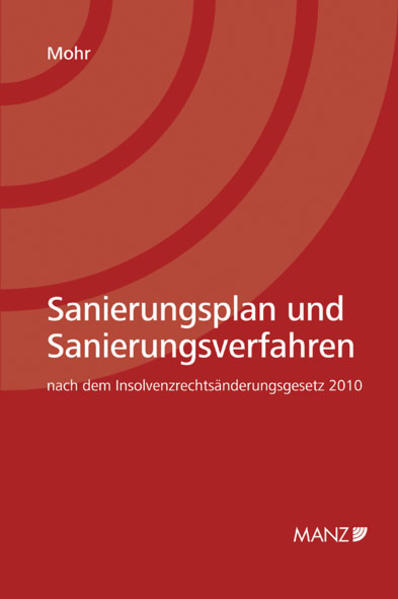 Sanierungsplan und Sanierungsverfahren - Coverbild