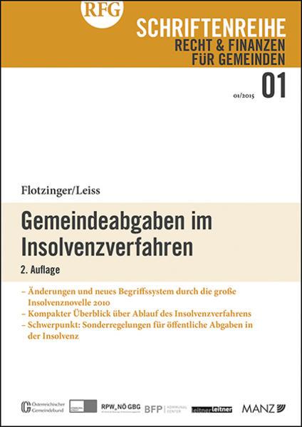 Gemeindeabgaben im Insolvenzverfahren - Coverbild
