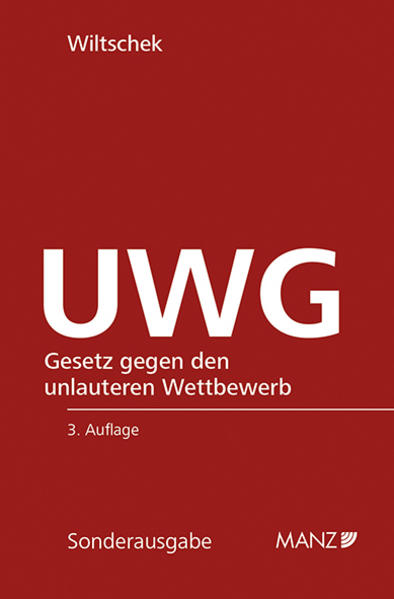 UWG - Coverbild