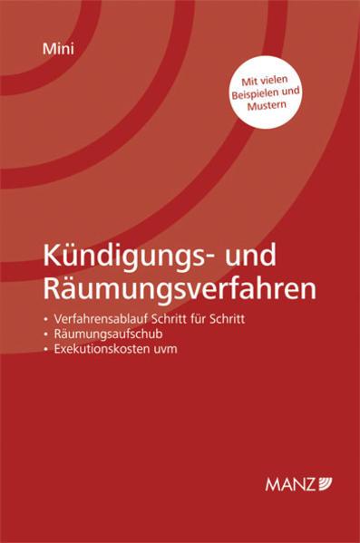 Kündigungs- und Räumungsverfahren - Coverbild