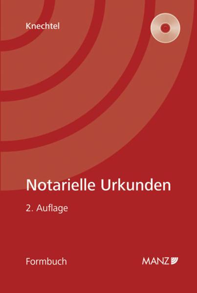 Notarielle Urkunden - Coverbild